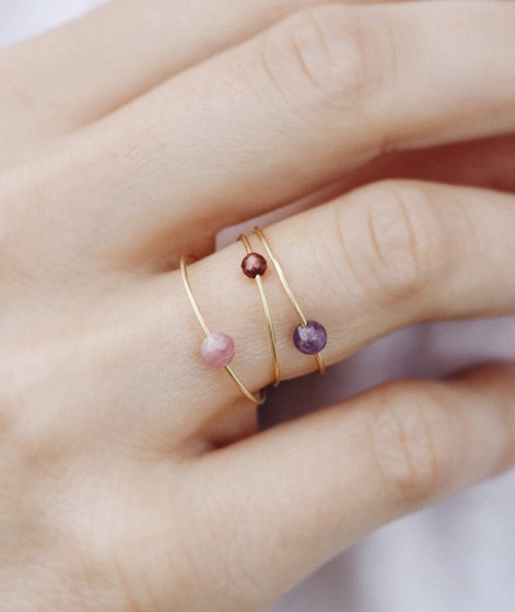 JUKSEREI Birthstone Ring January