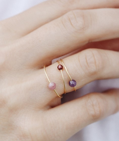 JUKSEREI Birthstone Ring July