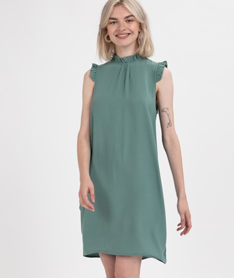 POP COPENHAGEN Ruffles Kleid mint