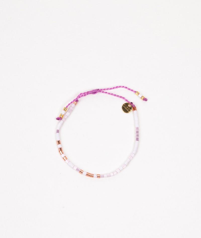 BLUSH INDIGO Sweet String Bracelet lila
