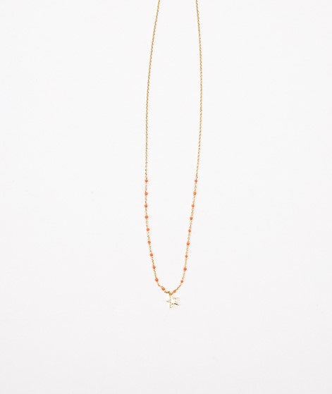 ESTELLA BARTLETT Half Dot Kette orange