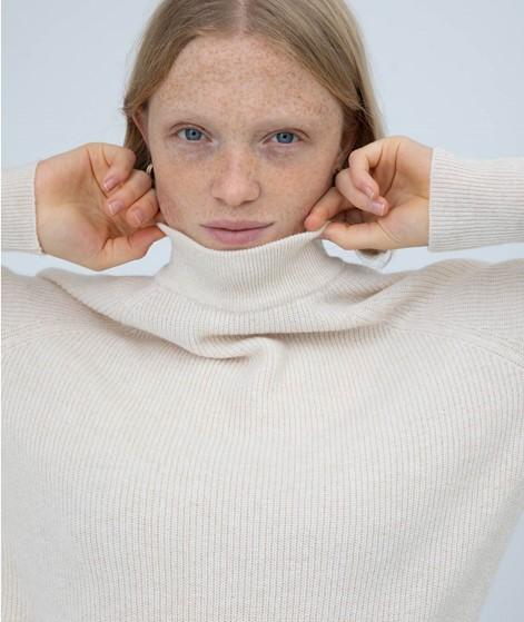 KAUF DICH GLÜCKLICH Pullover creme weiß