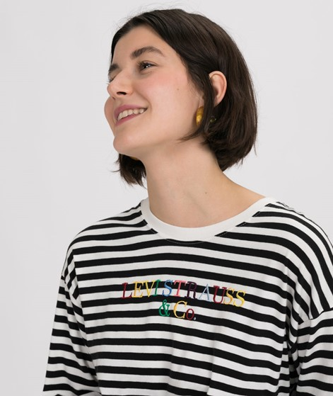 LEVIS Graphic Longsleeve 5 stripe crop