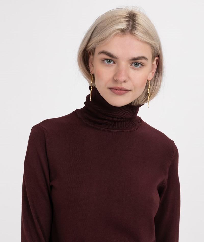 KAUF DICH GLÜCKLICH Sari Pullover rot