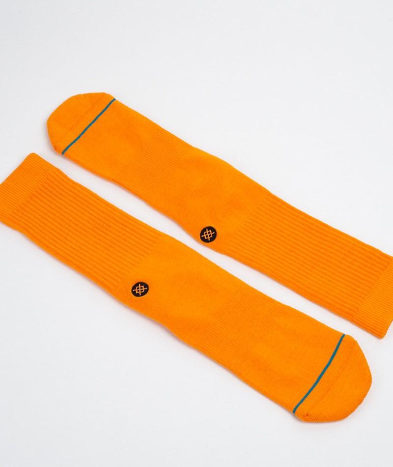 STANCE Icon Socke tangerine