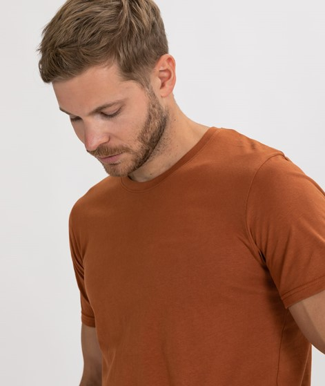 SUIT Anton T-Shirt golden brown