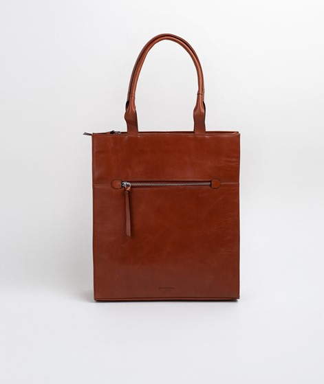 ROYAL REPUBLIQ Metropolis Tote Bag cognac