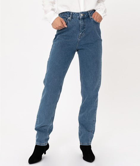 WHY7 Dana HW Mom Jeans light blue