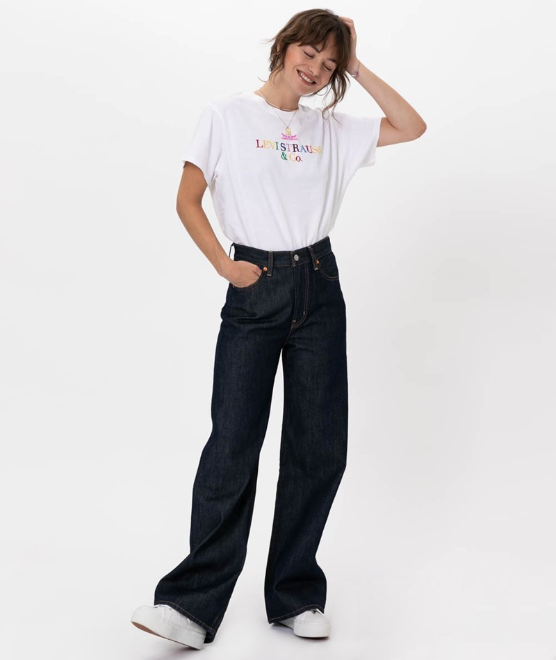 LEVIS Rib Cage Wide Leg Jeans high and m