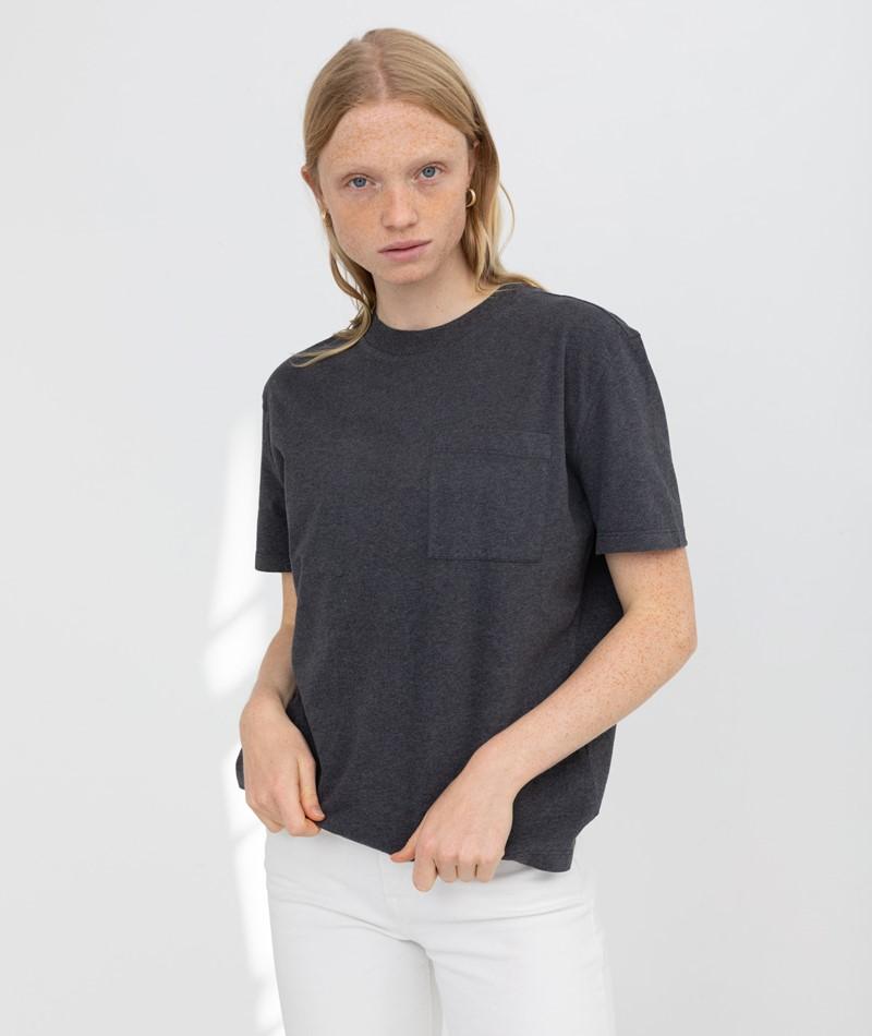 KAUF DICH GLÜCKLICH T-Shirt dunkelgrau