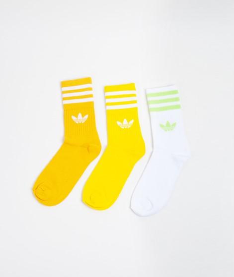 ADIDAS Mid Cut Crew Socks yellow