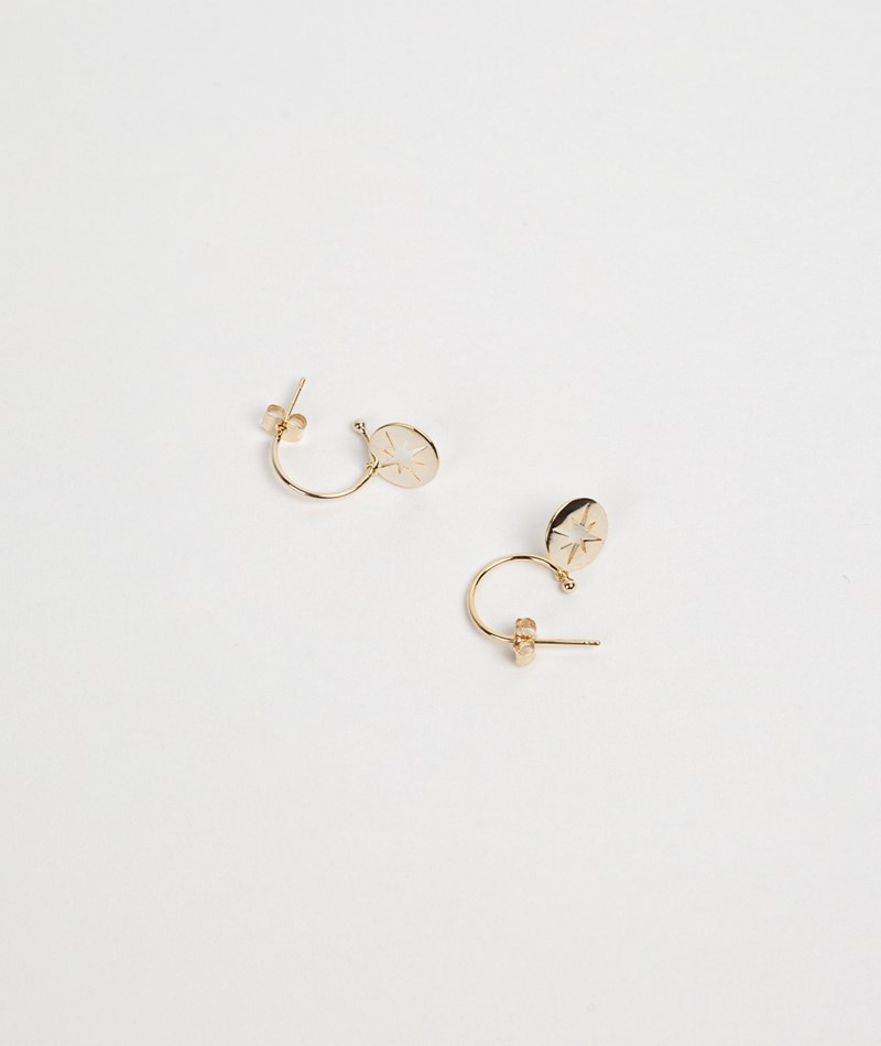 ESTELLA BARTLETT Starburst Drop Earring