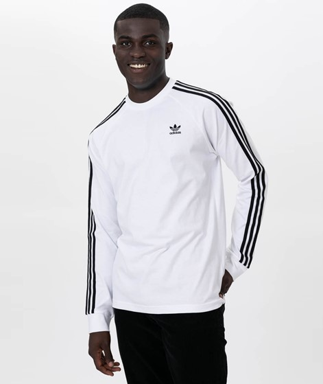 ADIDAS 3-Stripes Longsleeve white