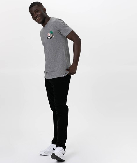 REVOLUTION POL T-Shirt grey melange
