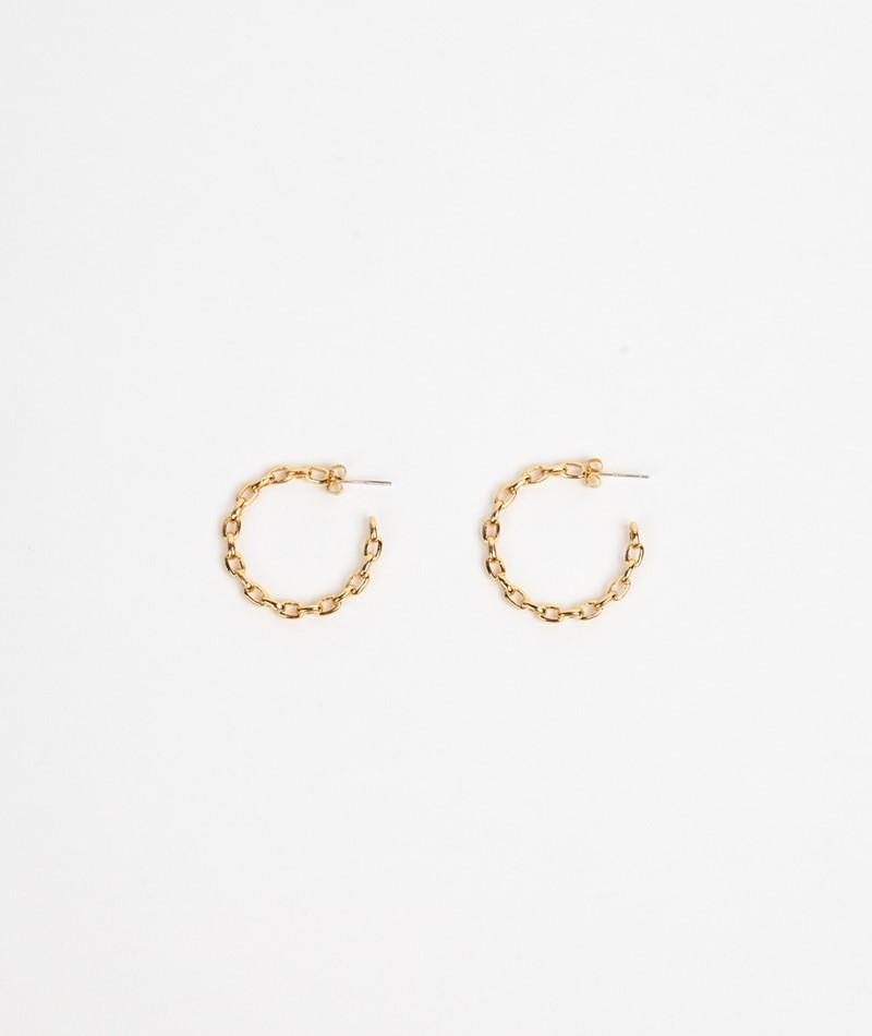 ESTELLA BARTLETT Chain Hoop Earrings