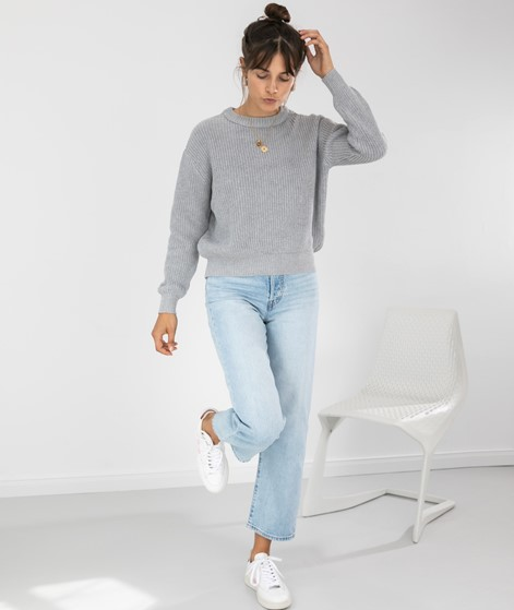 MINIMUM Mikala Pullover light grey melan
