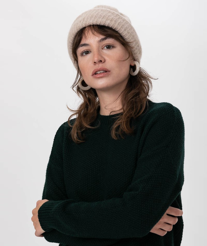 KAUF DICH GLÜCKLICH Pullover dark green