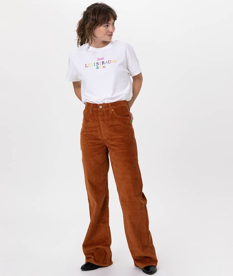 LEVIS Rib Cage Wide Leg Jeans caramel