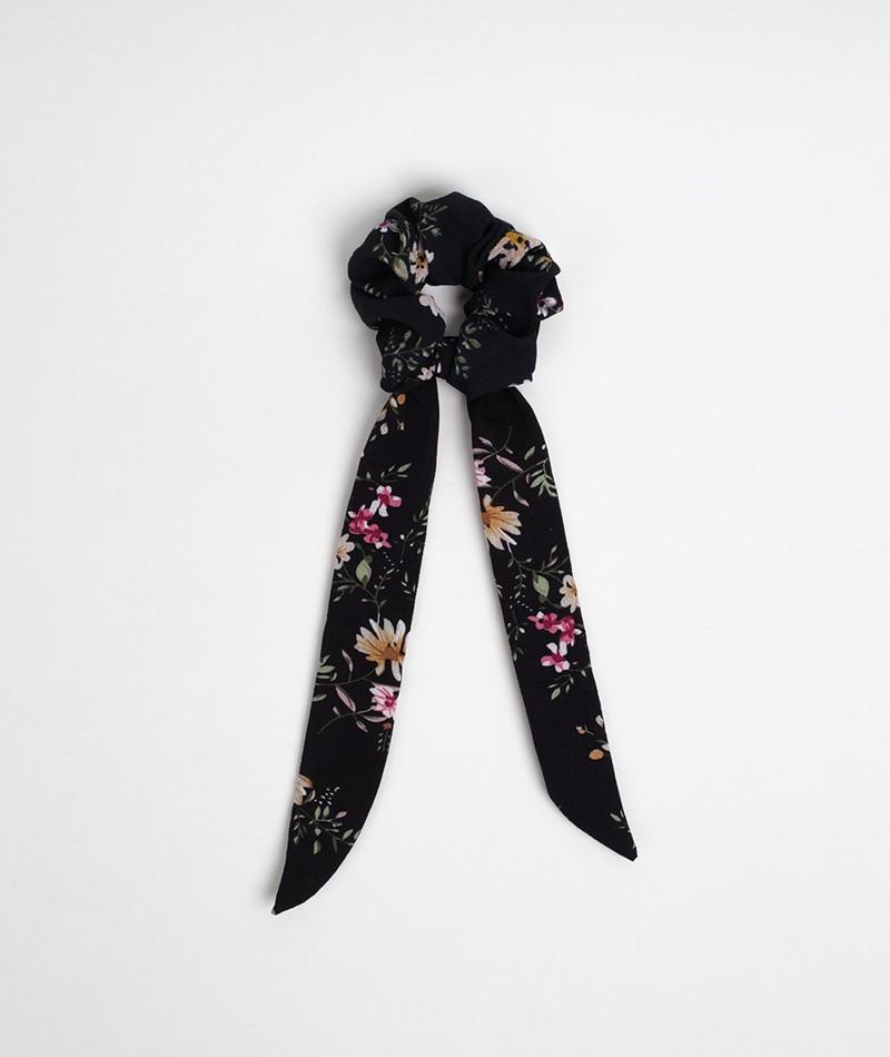 EBBA Flower Bow Scrunchie