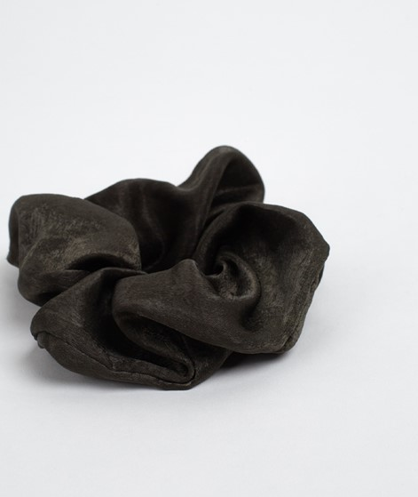 EBBA Satin Scrunchie dark olive