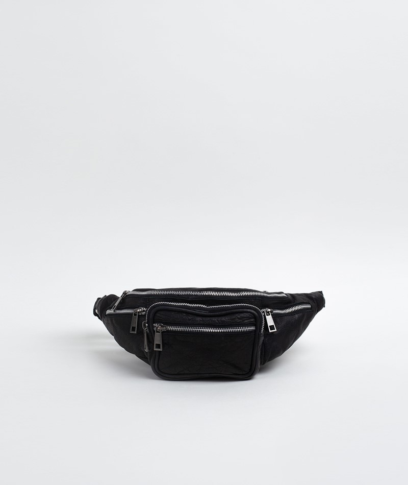 NÚNOO Mini Yoo Washed Leather Bauchtasche