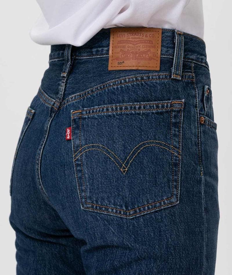 LEVIS 501 Crop Jeans market vintage
