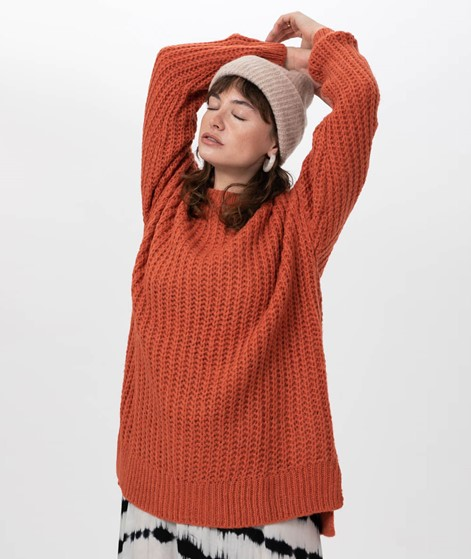 MOVES BY MINIMUM Ginnia Pullover orange