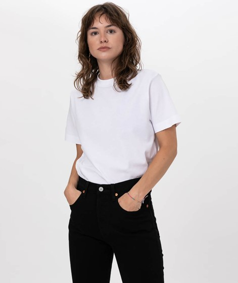 SAMSOE SAMSOE Camina Tee T-Shirt white