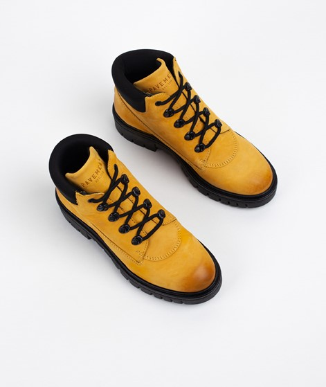 PAVEMENT Jada Stiefelette yellow