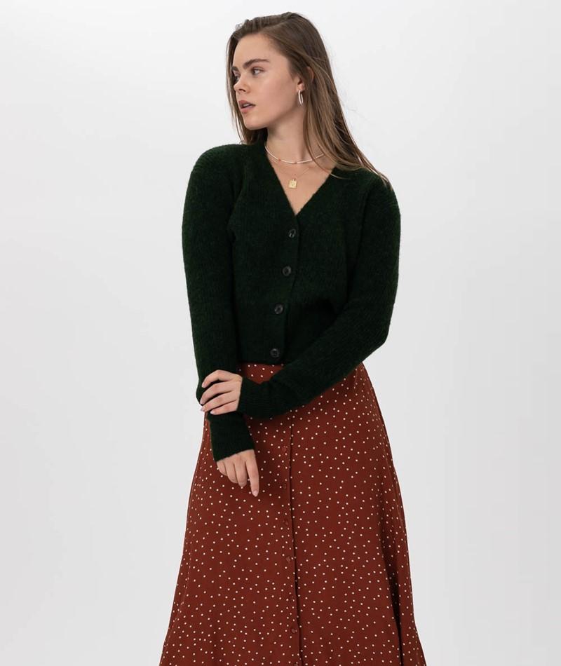 JUST FEMALE Rebelo Knit Cardigan Mountai