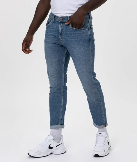 LEE Rider Cropped Jeans blue denim