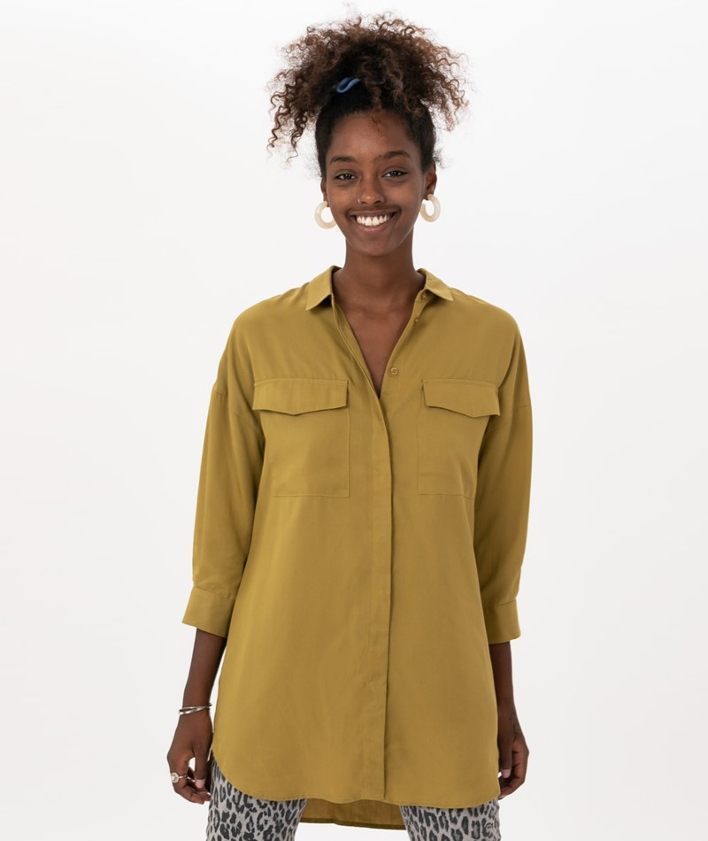 SELECTED FEMME SLFDonna 7/8-Shirt olive
