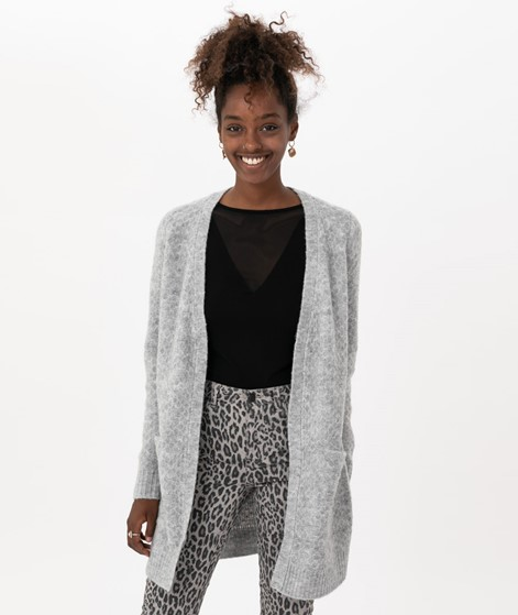 VILA Viinifi Cardigan light grey melange