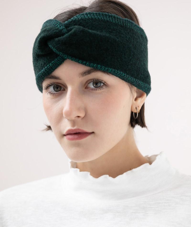 KAUF DICH GLÜCKLICH Stirnband dark green