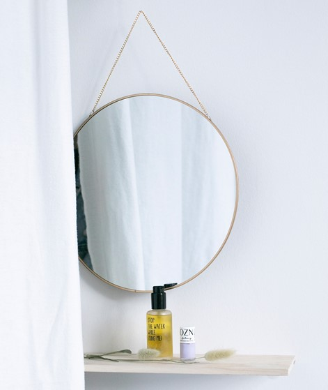BLOOMINGVILLE Mirror gold