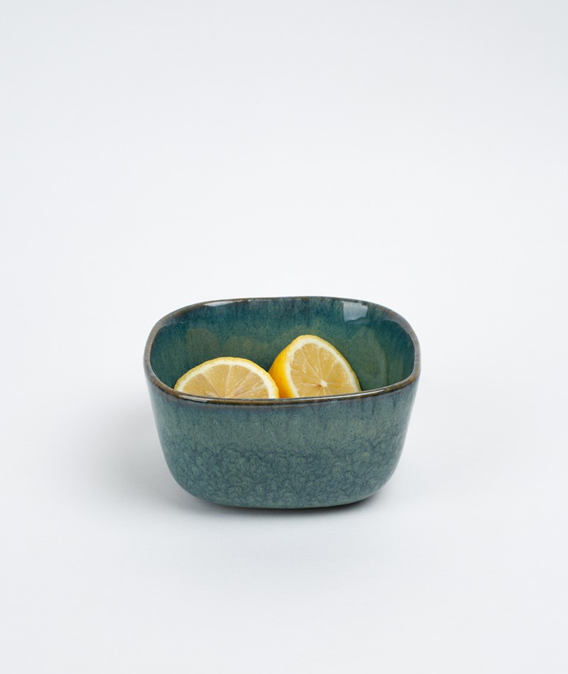 BLOOMINGVILLE Aime Serving Bowl grün