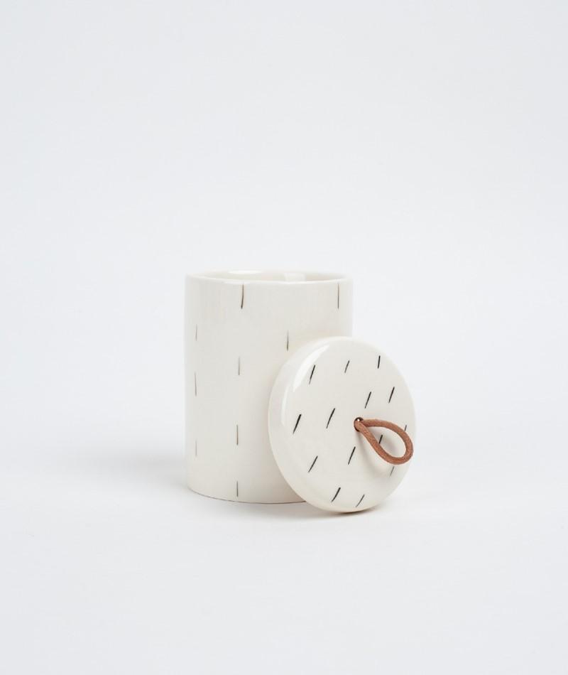 BLOOMINGVILLE Jar w/Lid Box