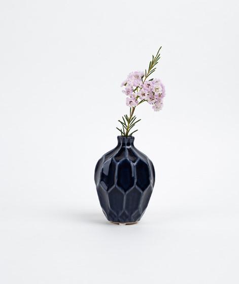 BROSTE Amalfi klein hoch Vase blue night