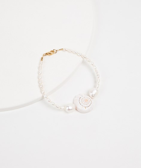 SEEFELDT Rice Pearls Shell Armband