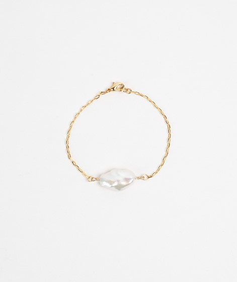 SEEFELDT Distorted Pearl Armband gold