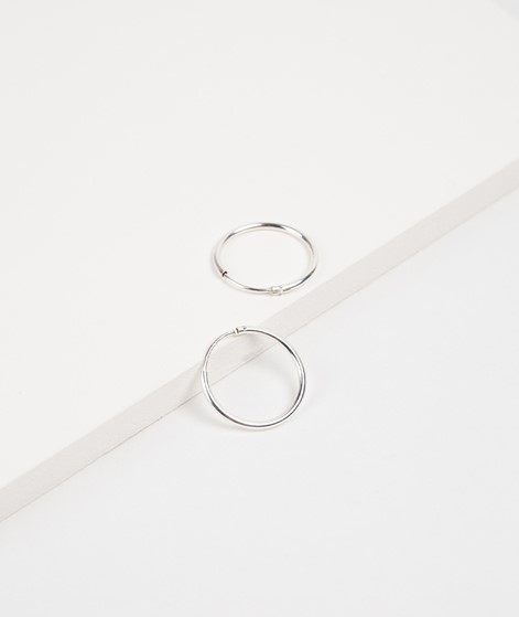TOODREAMY Blank Mini Hoops silber