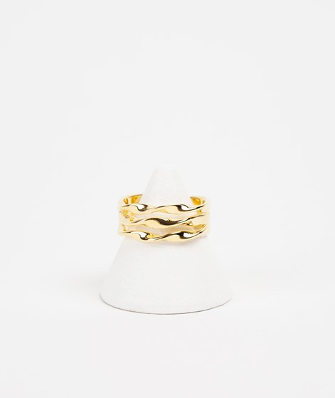 LOUISE KRAGH NRoll Ring gold