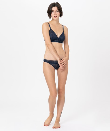 LULUS DRAWER Leah Softcup Bra navy