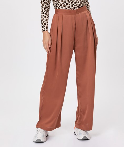 NATIVE YOUTH Sofia Wide leg Pant Rust