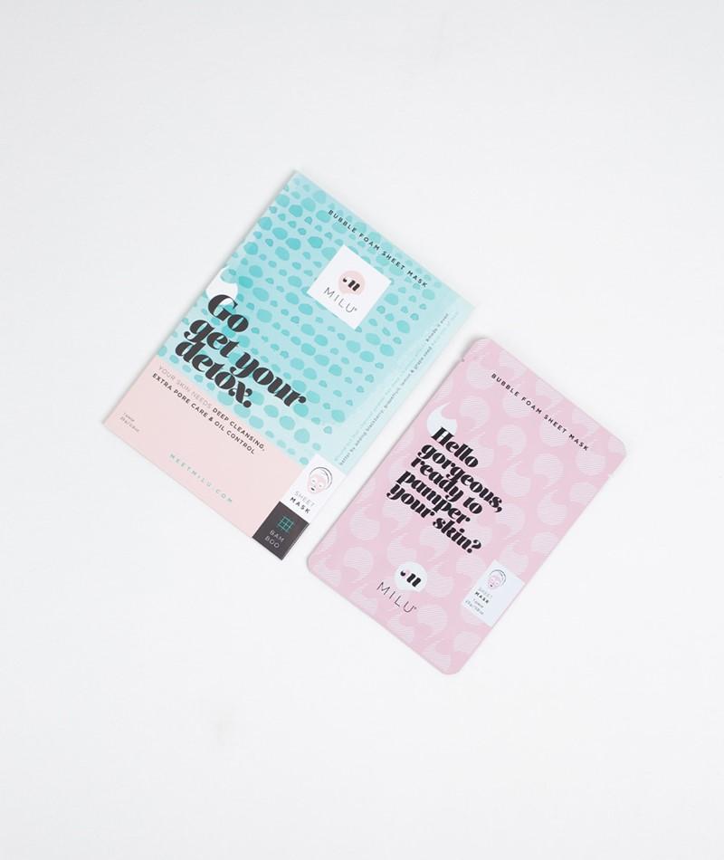 MILU Bubble Foam Sheet Mask