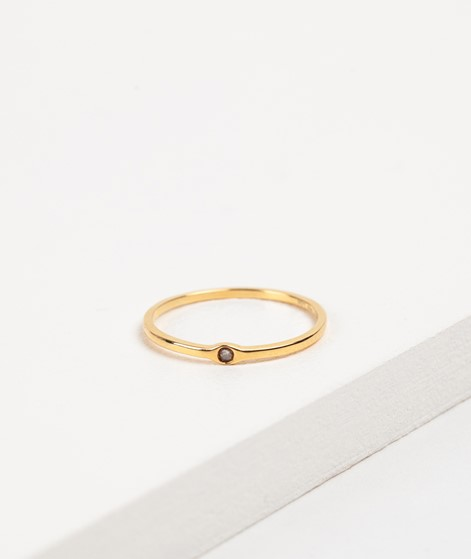 LOUISE KRAGH Rawdiamond Ring gold