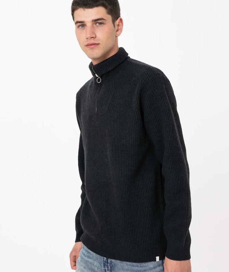 MINIMUM Tombow Pullover black