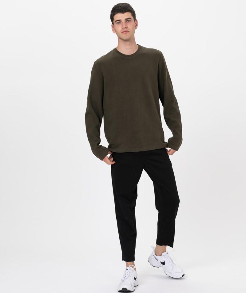 KAUF DICH GLÜCKLICH Sweater dark olive