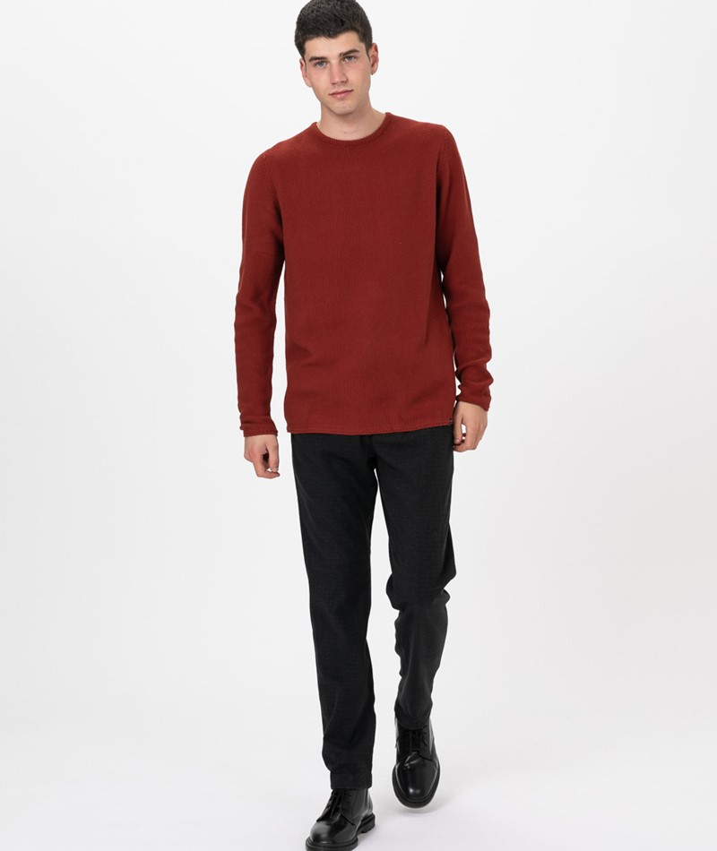 REVOLUTION Knitted Pullover  red