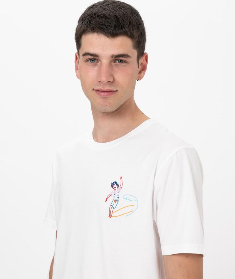 OLOW Hang Ten Tee T-Shirt off white